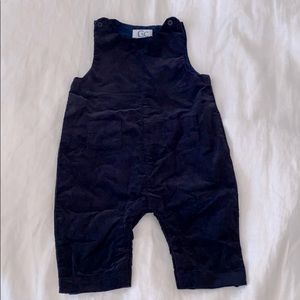 Navy Blue Cordory Baby Jumper
